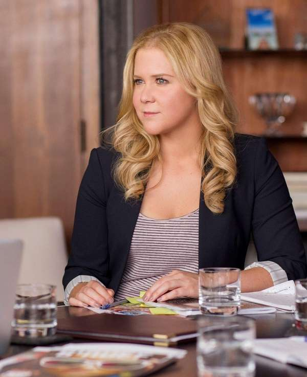 Amy Schumer is nominated in two Golden Globe
