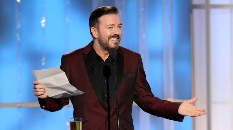 Ricky Gervais is back as host of the