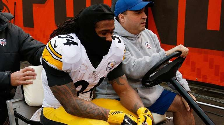 DeAngelo Williams of the Pittsburgh Steelers is