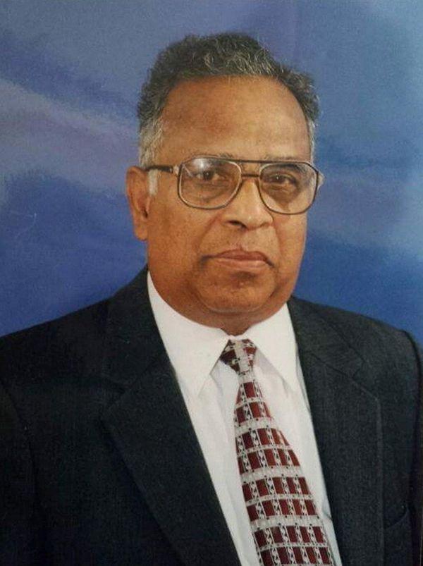The Rev. Mathew Samuel, longtime pastor of Elim