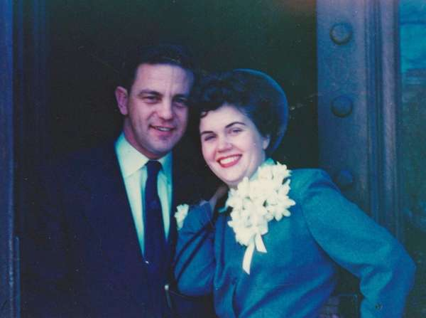 Ernie and Marilyn Erickson of Melville on their
