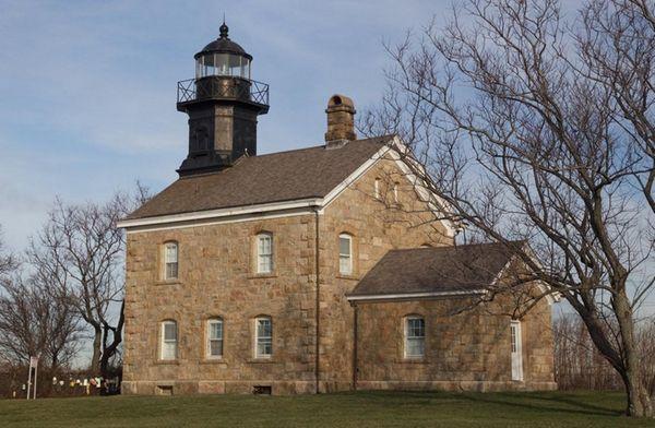 Old Field Point Light in Old Field.