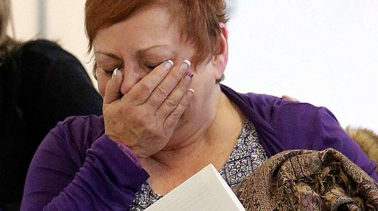 Cynthia Sellitto, the mother of victim Kimberly Sellitto,
