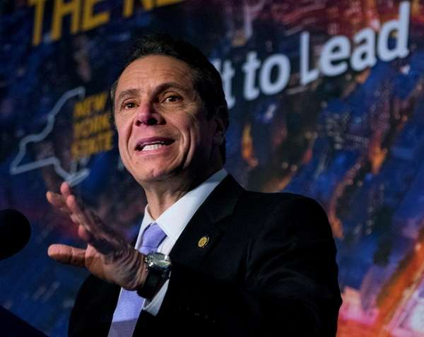 Gov. Andrew Cuomo announces his proposal for sweeping