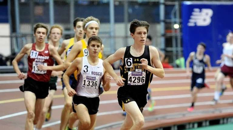 Frederick Buckholtz of St. Anthony's finished 4th. with