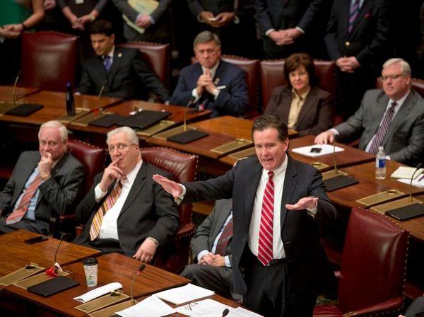 Senate Majority Leader John Flanagan (R-East Northport) on