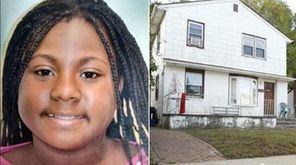 Dejah Joyner, 12, of Hempstead, left, was fatally