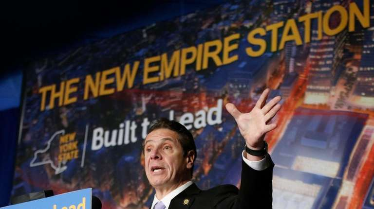 Gov. Andrew M. Cuomo describes the planned overhaul