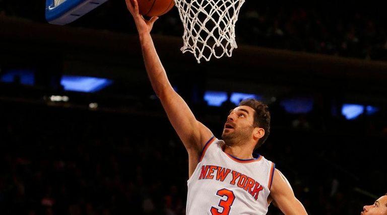 Jose Calderon expected Knicks fans to boo him