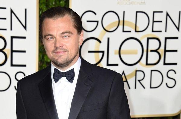 Leonardo DiCaprio arrives for the 73rd annual Golden