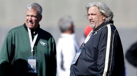 Rex Ryan, left, and his brother Rob