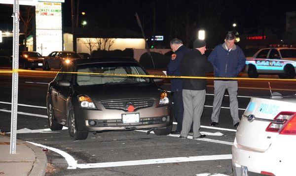 Suffolk County police investigate scene where Bernardo Benjamin