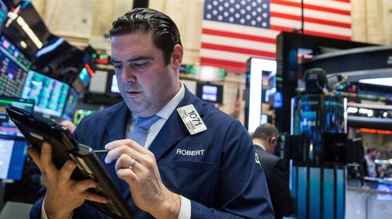 Stocks climbed Monday, Jan. 11, 2016, in a