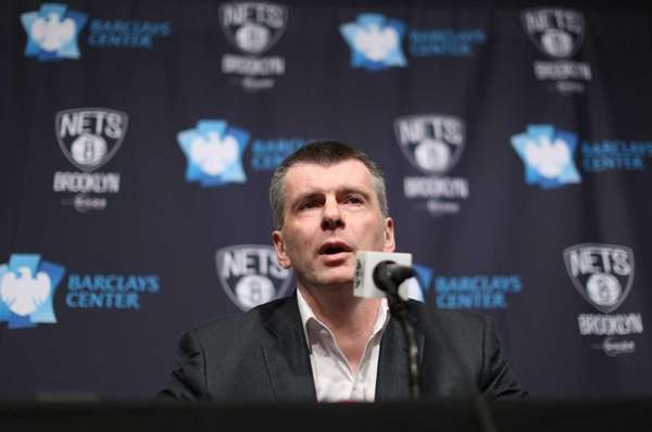 Brooklyn Nets owner Prokhorov says he's selling 49pc stake