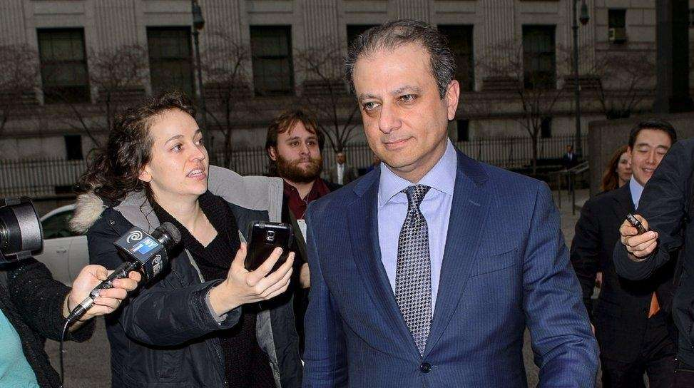 U.S. Attorney for the Southern District Preet Bharara