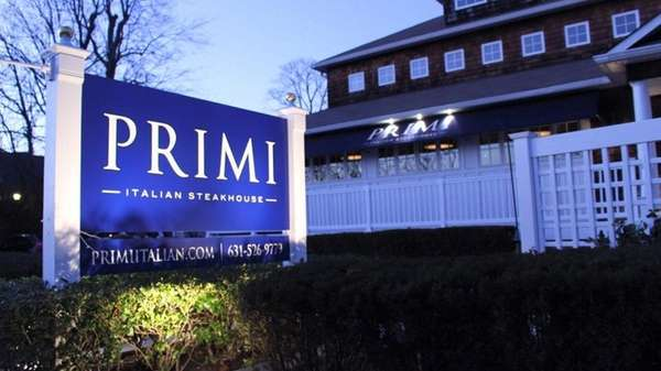 Primi Italian Steakhouse is now open at 999