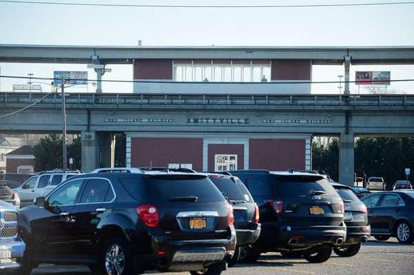 The Amityville Long Island Rail Road station, Monday,