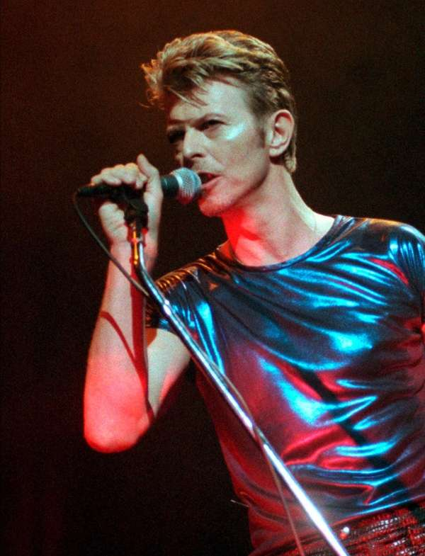 David Bowie, the innovative and iconic singer whose