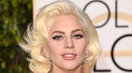 Lady Gaga attends the Golden Globe Awards on