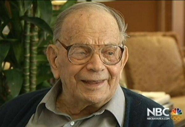 Bill Del Monte, the last 1906 earthquake survivor,