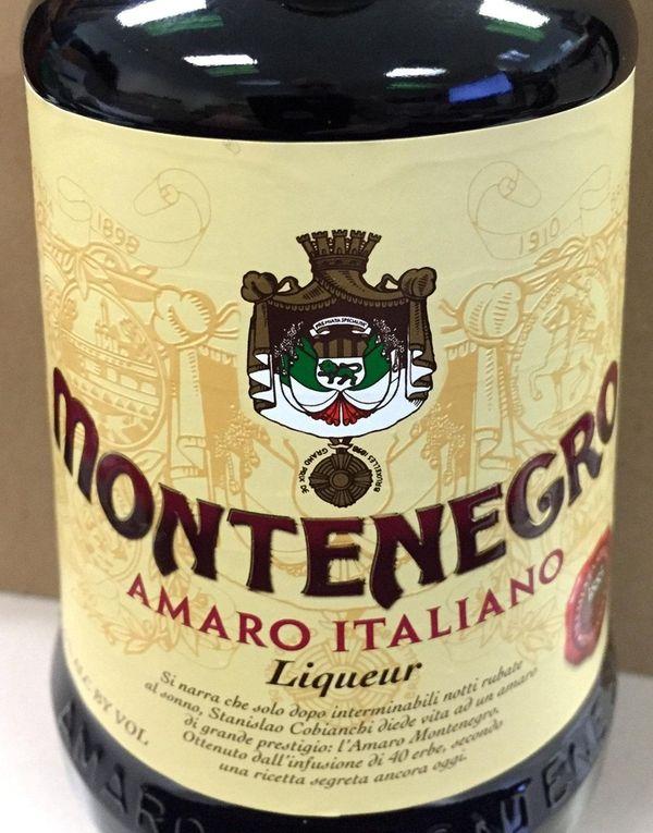 Montenegro Amaro Italiano.