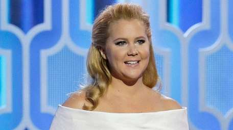 Amy Schumer, with Jennifer Lawrence at the 73rd