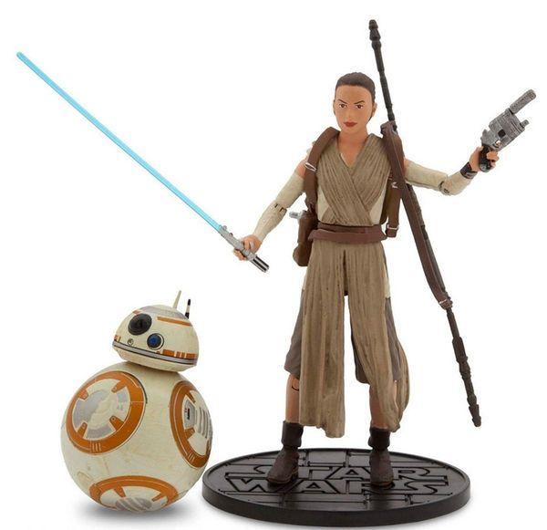 Rey, right, and BB-8 Elite Series Die Cast