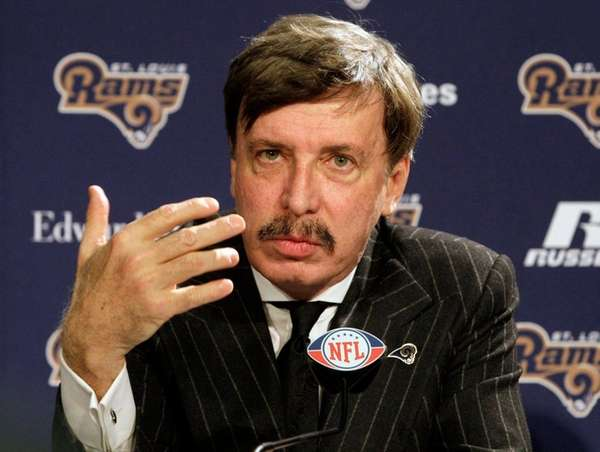 St. Louis Rams owner Stan Kroenke speaks