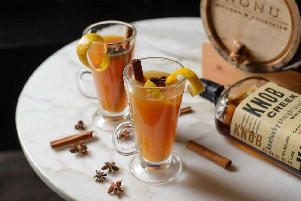 The hot toddy, or totty, can be made
