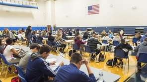 Sophomores prepare to take the PSAT at