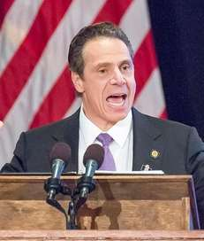 Gov. Andrew Cuomo delivers his State of