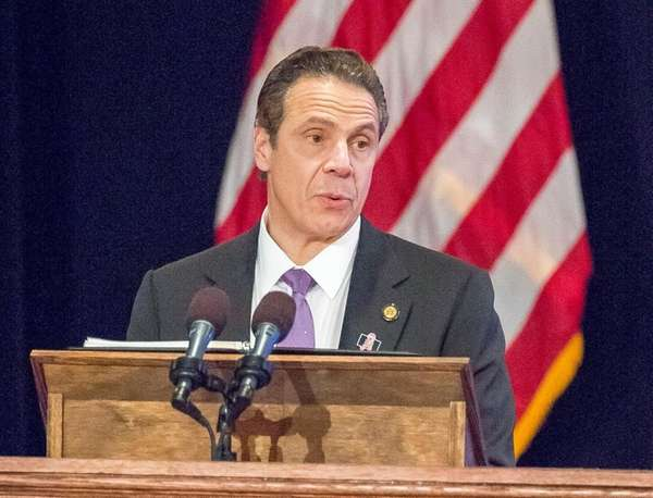 Gov. Andrew Cuomo gives his State of