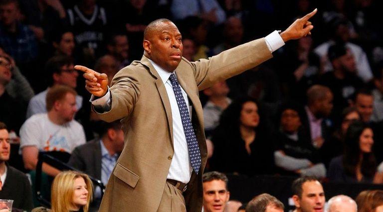 Interim head coach Tony Brown of the