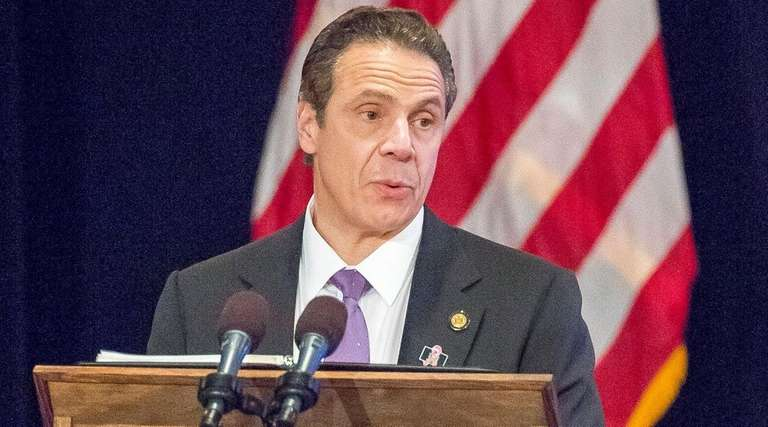 Gov. Andrew M. Cuomo gives his State of