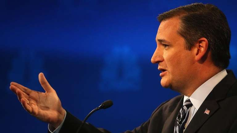 Texas Sen. Ted Cruz.