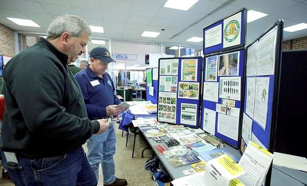 Suffolk County farmer Tom Funfgeld of Calverton,