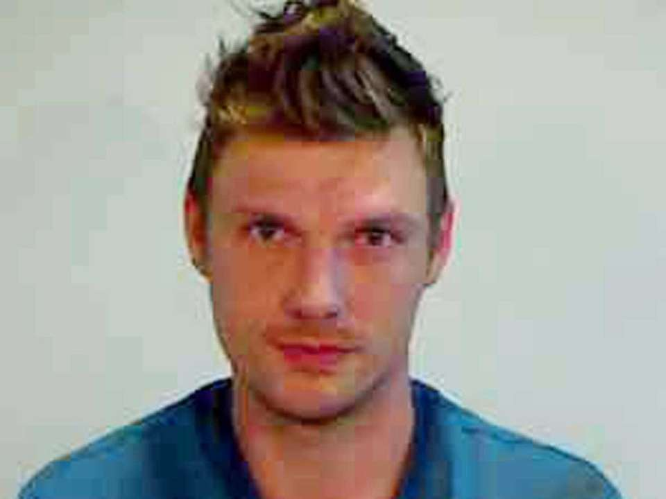 Singer Nick Carter of the Backstreet Boys was