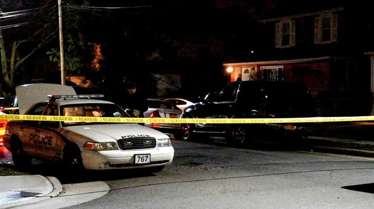 Hempstead Village police are investigating after a man