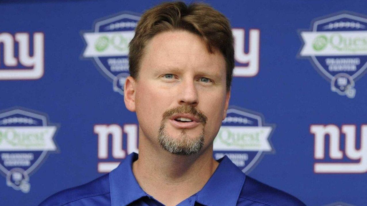 New York Giants offensive coordinator Ben McAdoo
