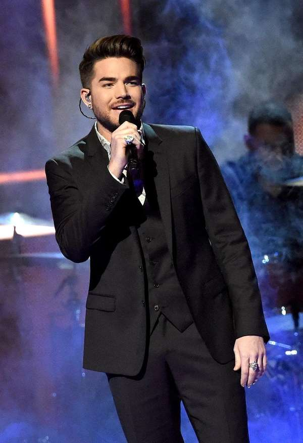 Adam Lambert performs at the 2015