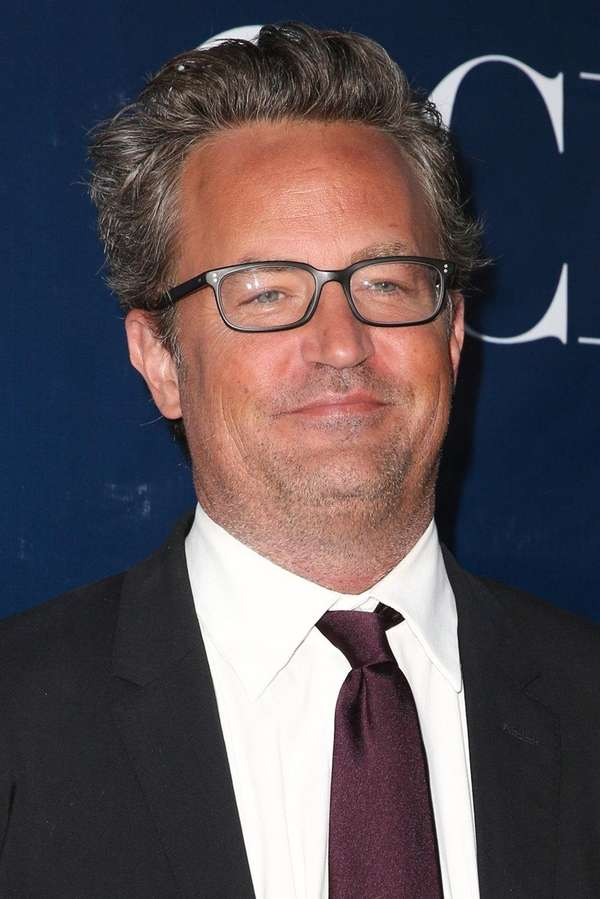 Matthew Perry arrives at a summer Television Critics
