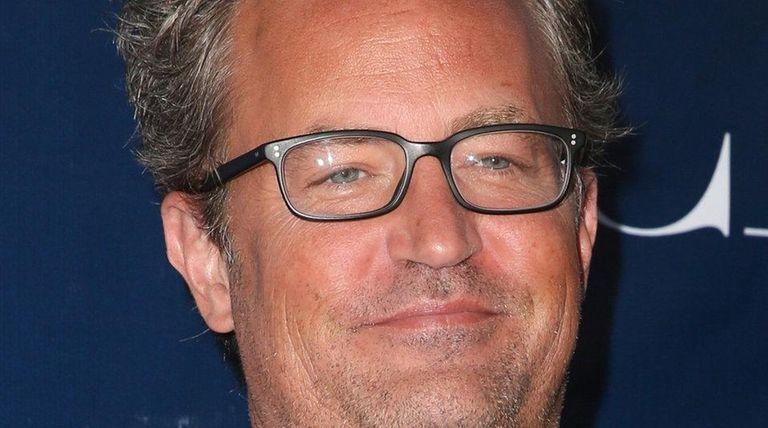 Matthew Perry arrives at a summer Television Critics
