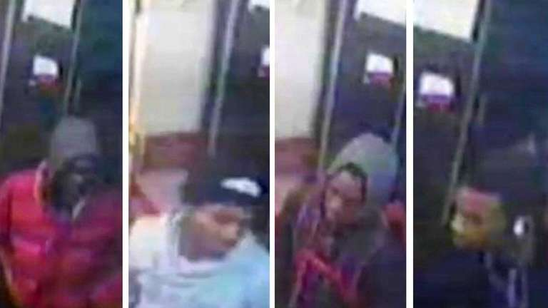 NYPD surveillance footage of four of the five