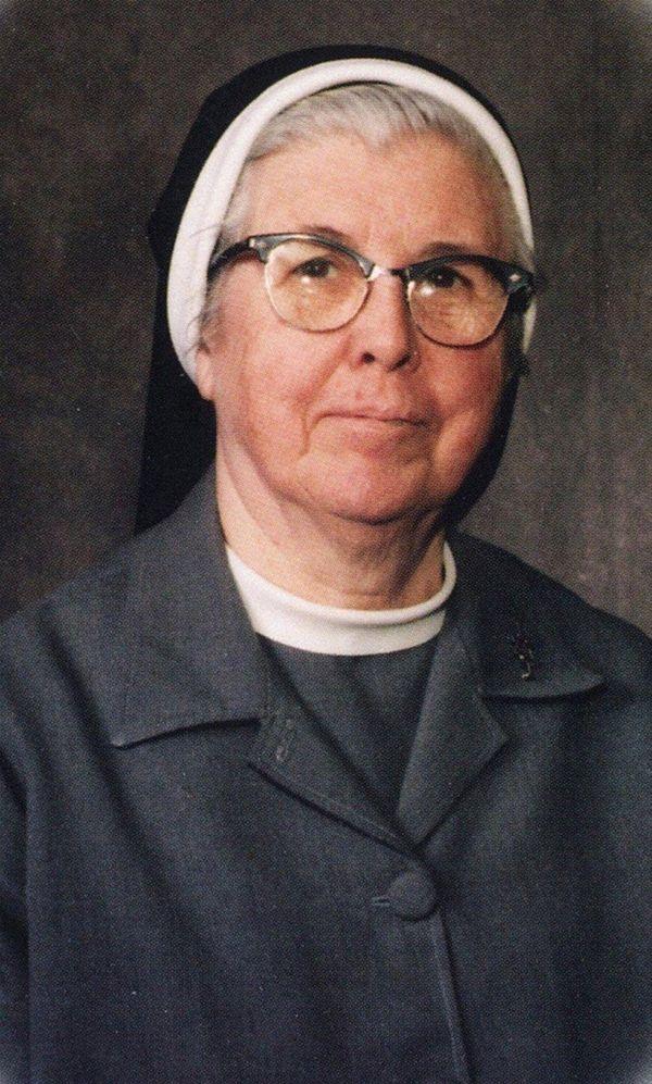 Sister John Raymond McGann, longtime educator at St.