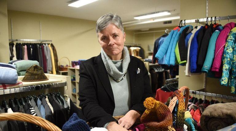 Jean Kelly, executive director of the INN, inside