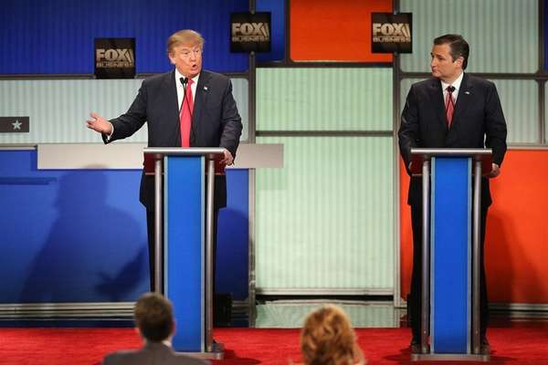 Donald Trump and Ted Cruz traded barbs