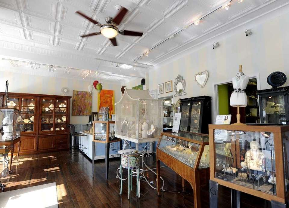 There's plenty to buy at these boutiques (pictured,