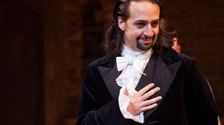 Lin-Manuel Miranda, star and creator of the megahit