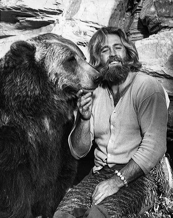 Dan Haggerty, the actor who played Grizzly Adams
