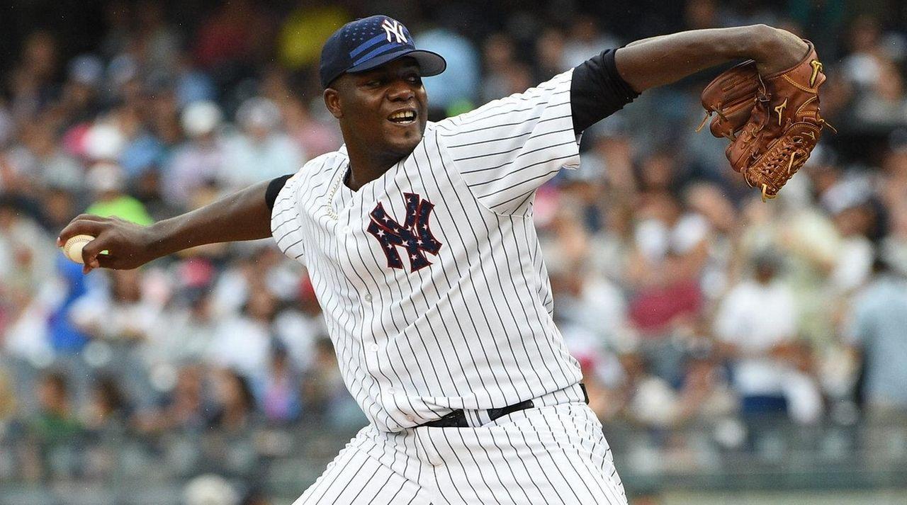 New York Yankees starting pitcher Michael Pineda